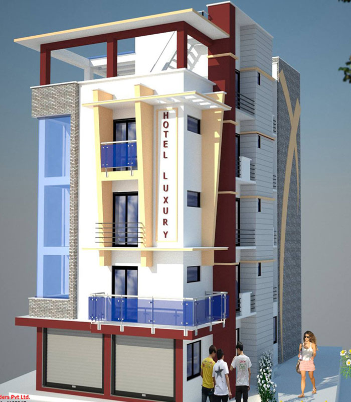 Commercial Building Design in Nepal